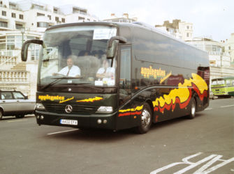 AA02 EFA - UK Coach Rally Brighton April 2005 - photo from Ken Lansdowne